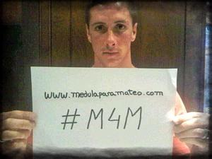Fernando Torres supports Marrowformathew