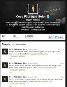 Cesc Fabregas - footballer who plays for FC Barcelona and the Spanish national team